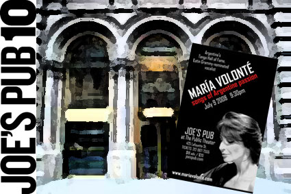 Maria Volonte at Joe's Pub