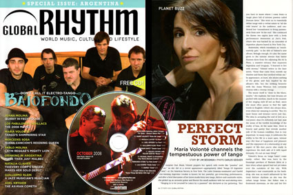Global rhythm magazine