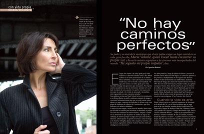 Maria Volonte in Revista Sophia