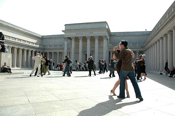 tango at the Legion of Honor