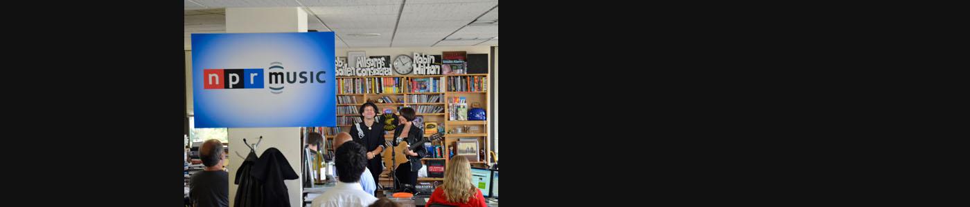 NPR: Tiny Desk Concert