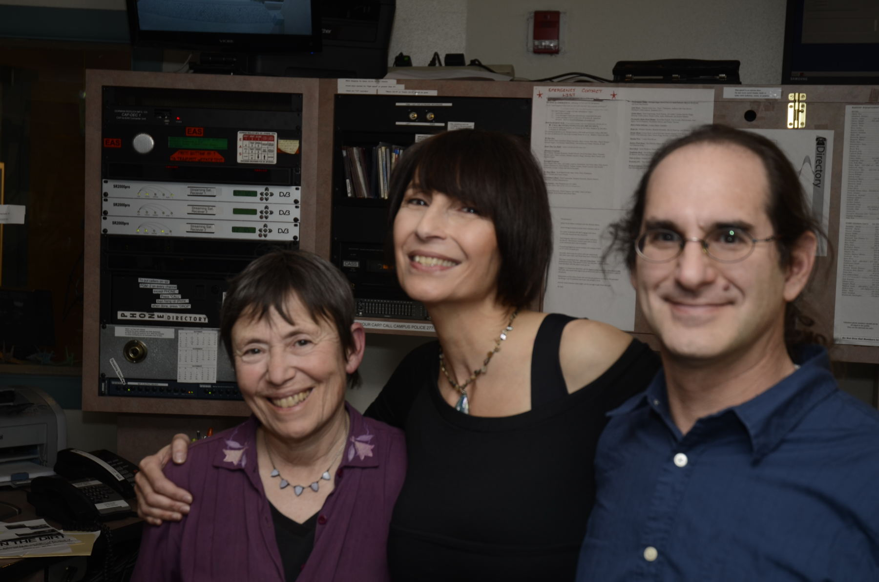 Radio Show in KUNM , Albuquerque, NM