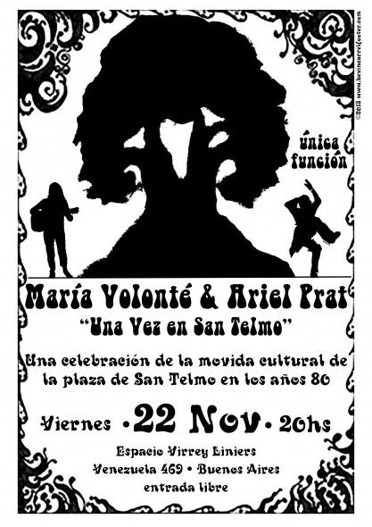 María Volonté y Ariel Prat