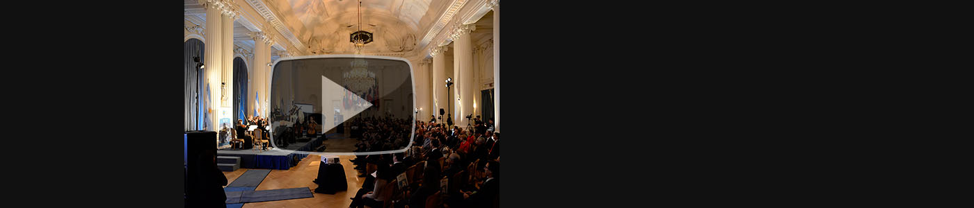 Video: María Volonté with the Pan American Symphony