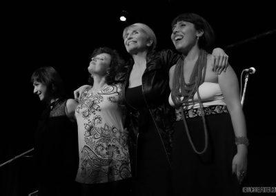 Gipsy Bonafina + Lorena Astudillo + María Volonté + Soema Montenegro
