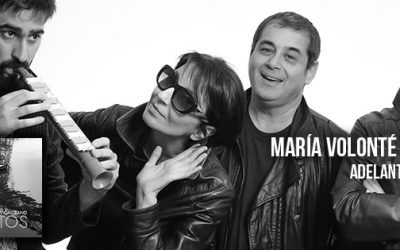 """4 OCT – María Volonté adelanta temas de su nuevo CD """"Puertos"""""""